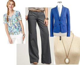 Charlotte Russe, Gap, Style&co., J.Crew
