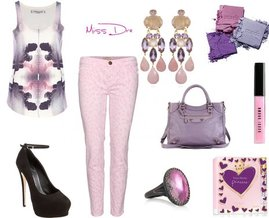 Fashion in a Purple Haze