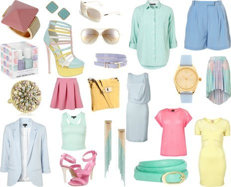 Topshop, Asos, Calvin Klein, Oasis, Juicy Couture