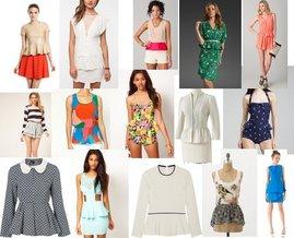 Karen Walker, Urban Outfitters, Topshop, Elle