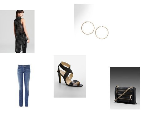 Rebecca Minkoff, Calvin Klein, Gold Sign, Coldwater Creek