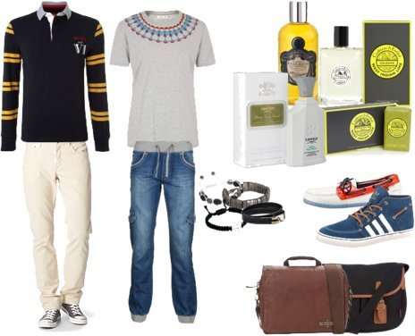 Miansai, River Island, Diesel, adidas, Sebago