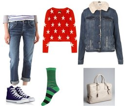 Forever 21, Prada, Converse, Topshop, Citizens of Humanity