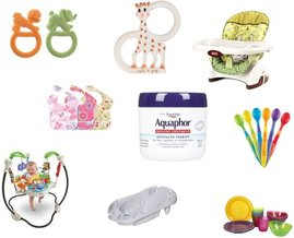 Safety 1st, Munchkin, Aquaphor, Fisher-Price