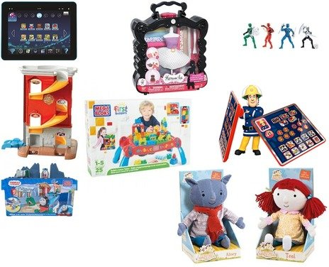 Mega Bloks, House of Fraser, Little Tikes