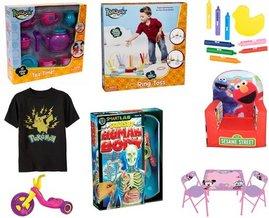 Toys 'R' Us, Sesame Street, Pokemon