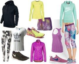 Nike, adidas, Asics