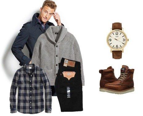 Timberland, H&M, Timex, J.Crew Factory, Levi's