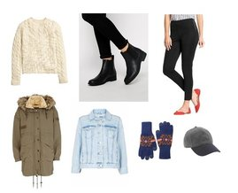 River Island, H&M, Old Navy, Topshop, J.Crew