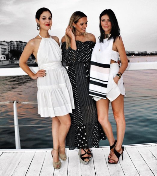 Having the best time in #Cannes with my girls @vicceridono @laiscmelo04 👯❤️👯 #FolieDouce #MyMajesticExperience 📸@franckbezairie #MyMajesticExperience #Cannes #Asos #PalomaBarcelo