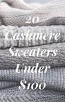 Don't break the bank with these amazing comfy sweaters all under $100!     #sweaterweather #cashmere #sweaters #comfysweaters