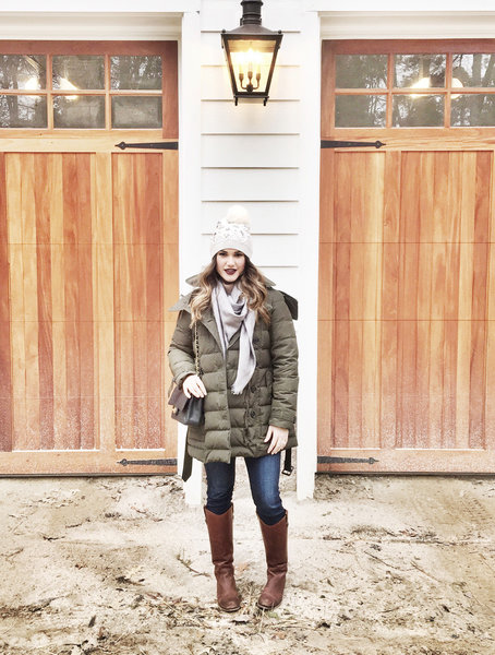 It's Friday & im ready to see a couple of ❄️flakes! Stay safe everyone ❤ #snow #ootd #blogger #burberry #clubmonaco #AG #frye #louisvuitton #wiw #fashionblogger
