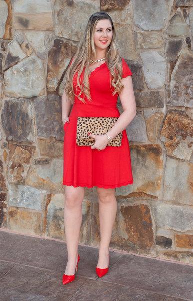 Lady in Red: Valentine's Date Night Dress