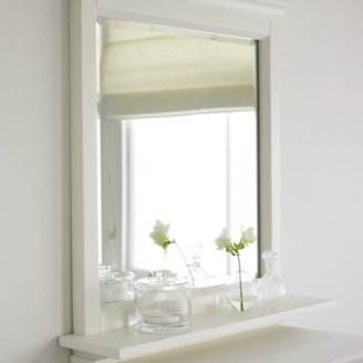 The White Company Brighton Mirror with Shelf