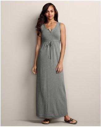 Eddie Bauer Henley Maxi Dress - Solid