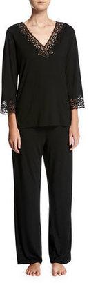 Natori Lhasa Jersey Pajamas $160 thestylecure.com