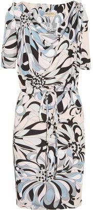 Emilio Pucci Printed crepe-jersey dress