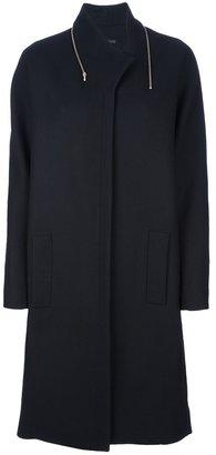 Victoria Beckham Zip collar coat