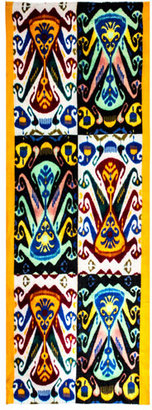 Lily & Lionel Dana patchwork ikat print scarf