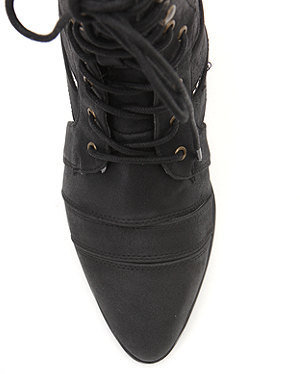 Qupid Toni Cutout Boots