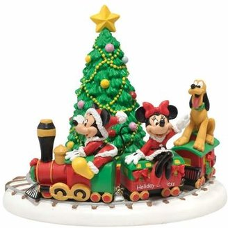 Mini A Ture Department 56 Disney Village Miniature Display Piece Mickey's Holiday Express