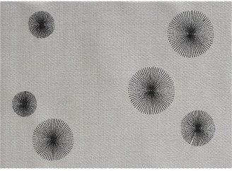 Crate & Barrel Astor Silver Placemat