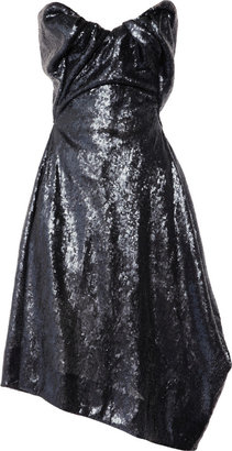 Vivienne Westwood Paper Bag sequined satin dress