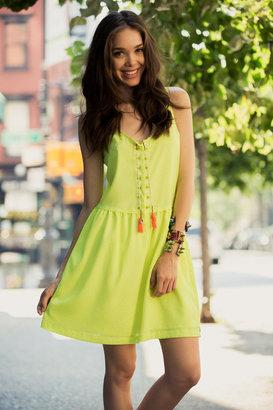 Maison Scotch Neon Summer Dress
