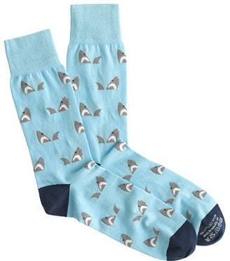 J.Crew Corgi™ lightweight pattern socks