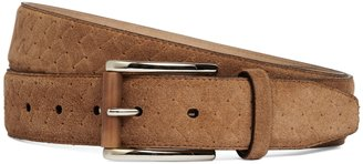 Brooks Brothers Suede Woven Dress Belt