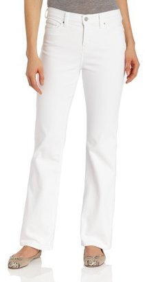 Levi's Women's 512 Bootcut Jean, White Highlighter, 8 Medium