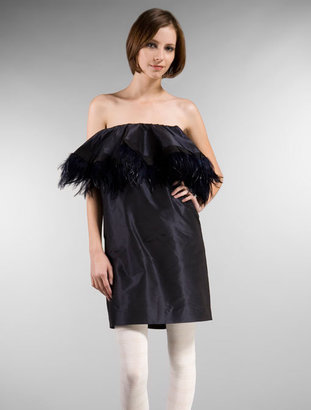 Pencey Feather Dress