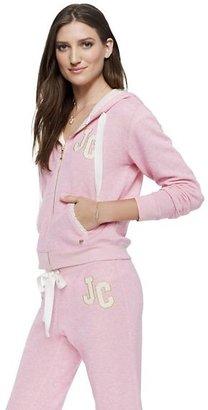 Juicy Couture Original Jacket In Eyelet Terry
