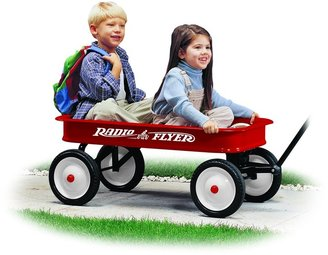 "Radio Flyer Classic Red 36"" Steel Wagon"