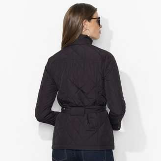 Ralph Lauren Diamond-Quilted Snapped Jacket