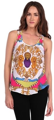 Torn By Ronny Kobo Libby Tank Photo Squiggle