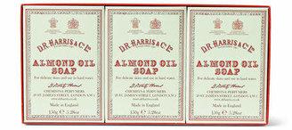 D.R. Harris D R Harris Three-Pack Almond Oil Soaps, 3 X 150g