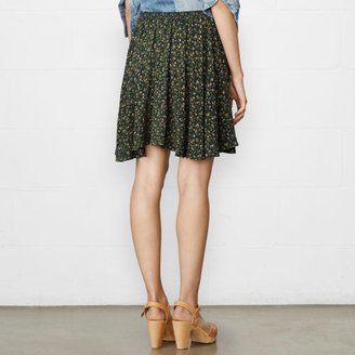 Denim & Supply Ralph Lauren Floral A-Line Miniskirt