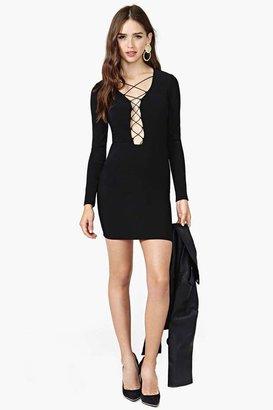 Nasty Gal Wicked Twists Dress