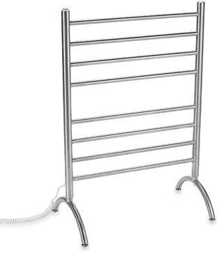 Myson Standing 8-Bar Towel Warmer - Stainless Steel