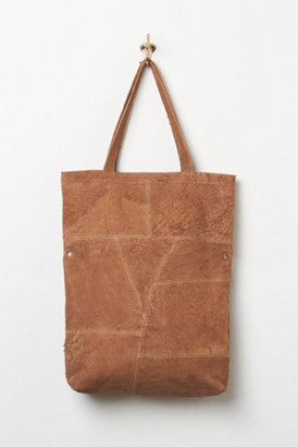 Free People Aged Suede Tote