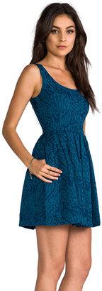 BB Dakota Corrine Jacquard Woven Dress