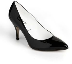 RON WHITE Marnie Patent Leather Pumps
