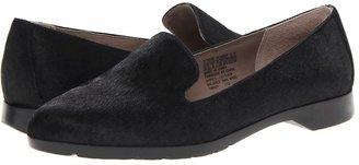 Rockport Jia Slip On Flat (Black Pony) - Footwear