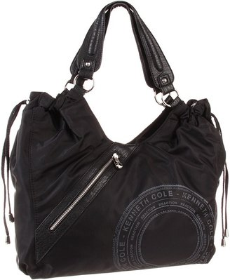 Kenneth Cole Reaction Morton Large Tote Nylon (Black) - Bags and Luggage