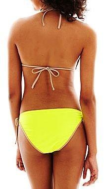 Arizona Sequined Slider Halter Swim Top