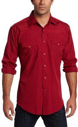 Wrangler Western Dobby Stripe Shirt