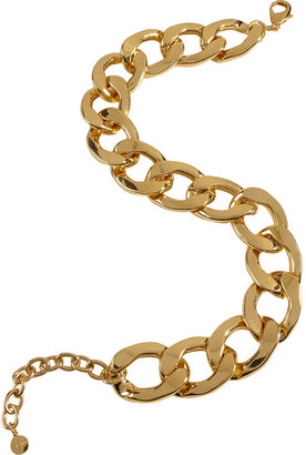 RJ Graziano Gold-Toned Chain Choker Necklace