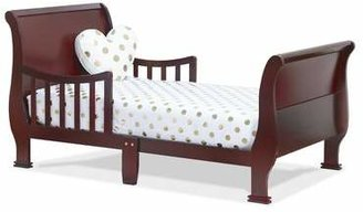 Orbelle Trading Louis Philippe Convertible Toddler Bed Orbelle Trading Bed Frame Color: Cherry