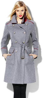 Vince Camuto Wool Military Coat